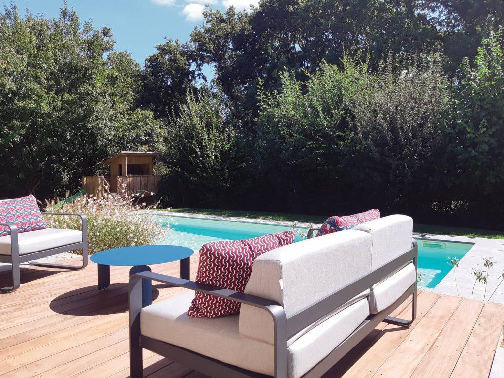 Abords de piscine et terrasse